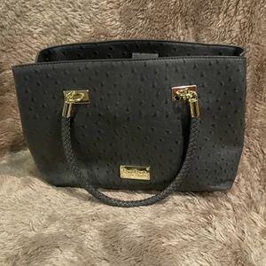 BEBE gray purse